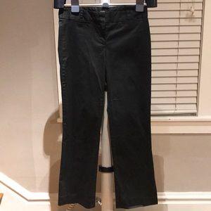 J Crew Women's Black Dress Pants - Size 4 Short